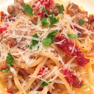 Italian Sausage and Sun-dried Tomato Pasta