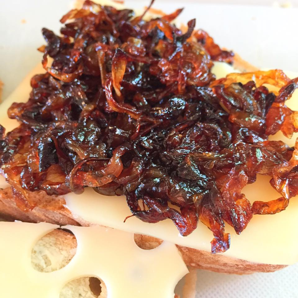 Grilled Cheese with Caramelized Onions3