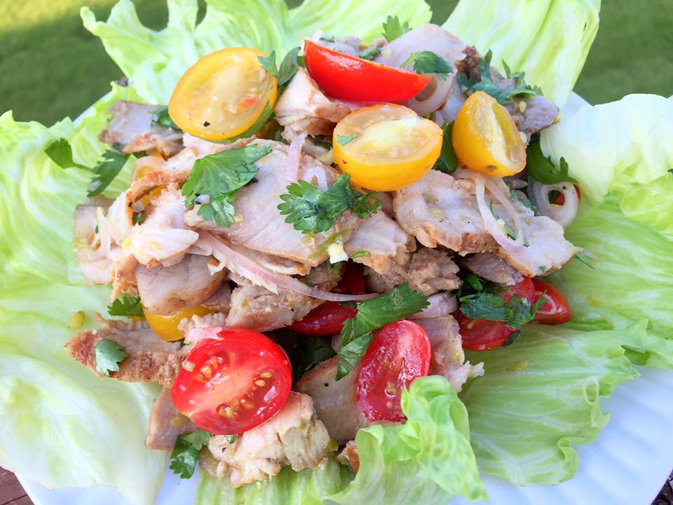 Thai Grilled Pork Salad