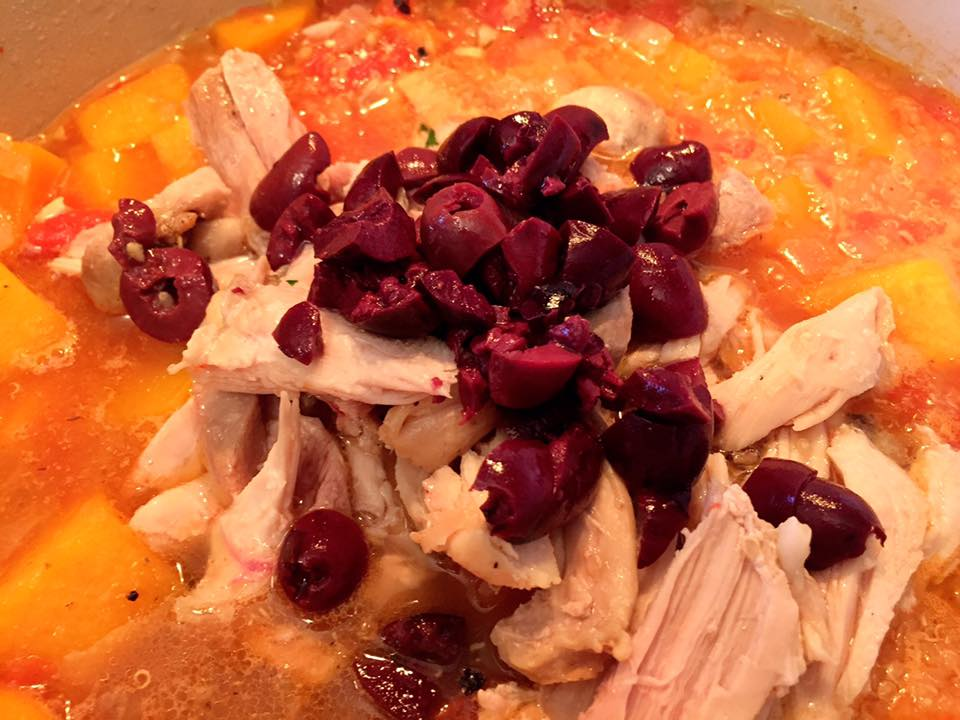 Chicken with Butternut Squash and Quinoa Soup