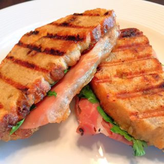 Prosciutto and Fig Jam Panini