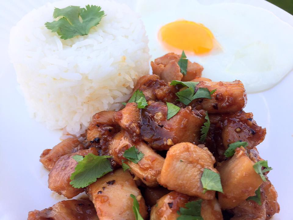 Thai Garlic Chicken