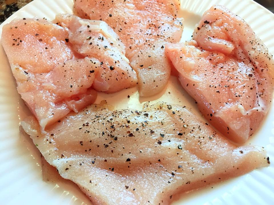 how to make chicken piccata sauce